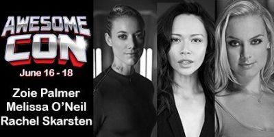 Zoie will be appearing at Awesome Con in DC in June